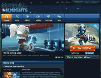 Thumbshot of Spiralknights.com