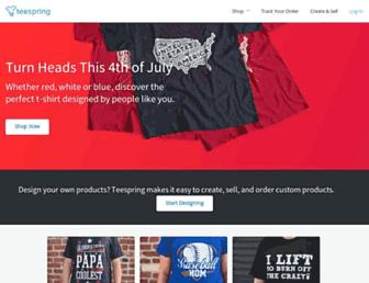 Thumbshot of Teespring.com