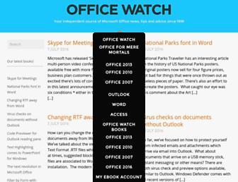 office-watch.com screenshot