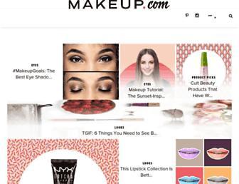 makeup.com screenshot
