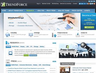 Thumbshot of Trendforce.com