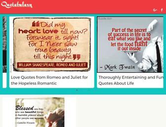 quotabulary.com screenshot