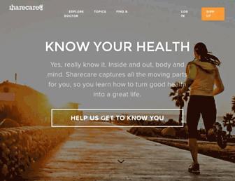 Thumbshot of Sharecare.com