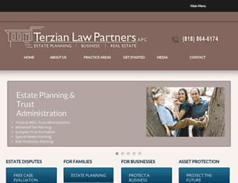 vterzianlaw.com screenshot