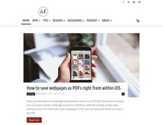 theappfactor.com screenshot