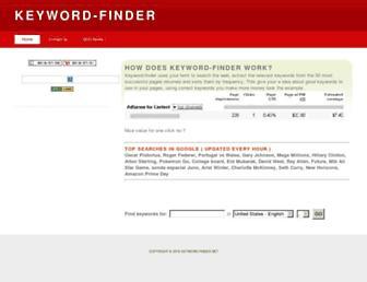Thumbshot of Keyword-finder.net
