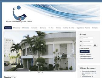 Thumbshot of Convertidosacristo.org