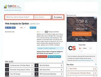 djnitish.com.cutestat.com screenshot