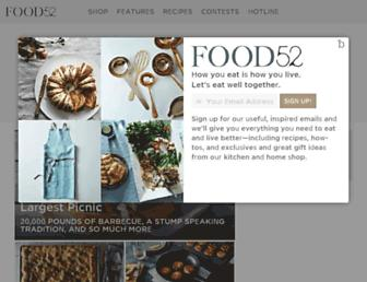 Thumbshot of Food52.com