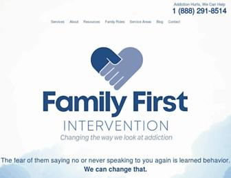 family-intervention.com screenshot