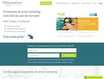 mediapost.com.br screenshot