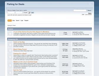 Thumbshot of Fishingfordeals.com