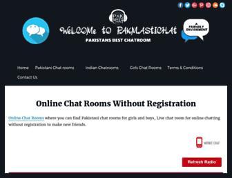 pakmastichat.com screenshot