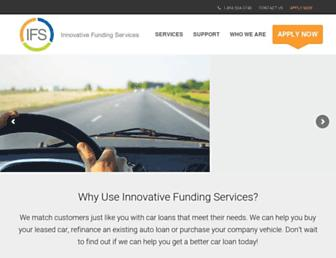 ifsautoloans.com screenshot