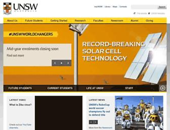 Thumbshot of Unsw.edu.au