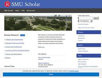 scholar.smu.edu screenshot
