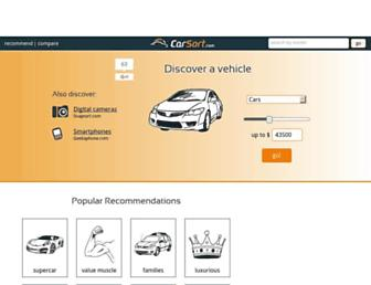 carsort.com screenshot