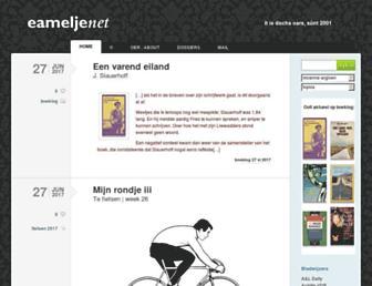 Main page screenshot of eamelje.net
