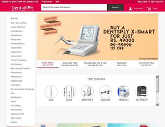 dentalkart.com screenshot