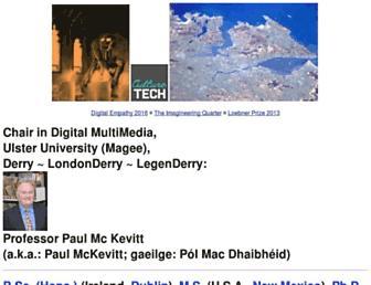 paulmckevitt.com screenshot
