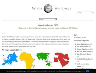 garminworldmaps.com screenshot