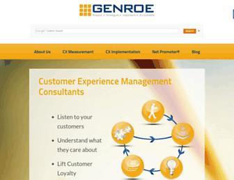 genroe.com screenshot