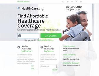 healthcare.org screenshot