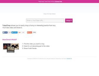 Thumbshot of Tubechop.com