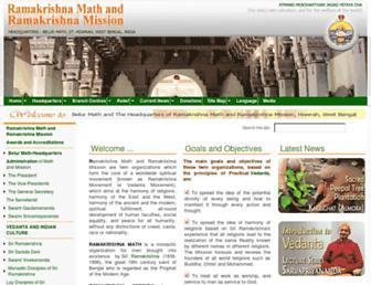 Main page screenshot of belurmath.net