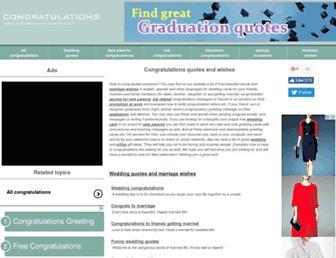 congratulationsto.com screenshot