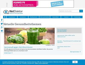 Thumbshot of Netdoktor.de