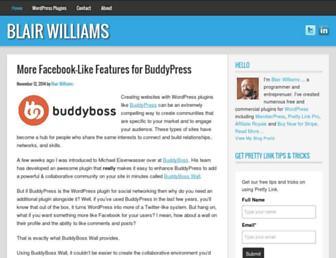 Thumbshot of Blairwilliams.com
