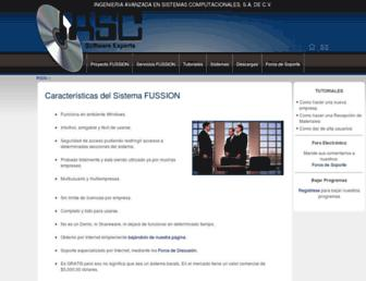 fussion.com.mx screenshot