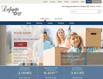 lfcu.org screenshot