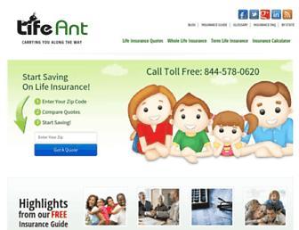 lifeant.com screenshot