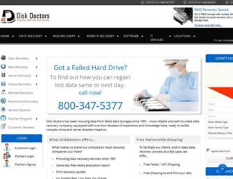 diskdoctors.com screenshot