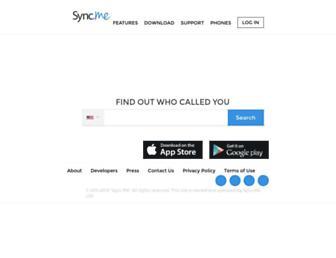 Thumbshot of Sync.me
