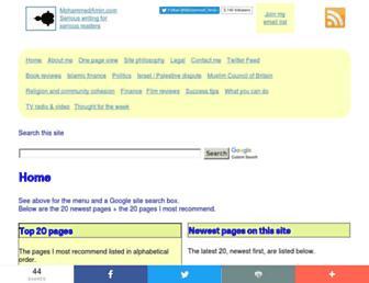 mohammedamin.com screenshot