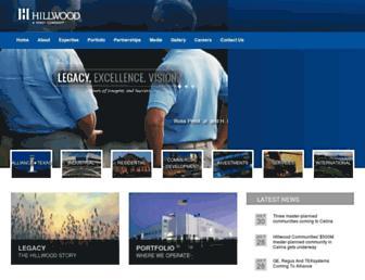 hillwood.com screenshot