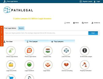 Thumbshot of Pathlegal.in