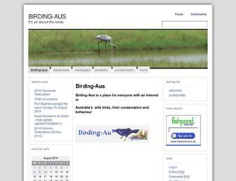 birding-aus.org screenshot