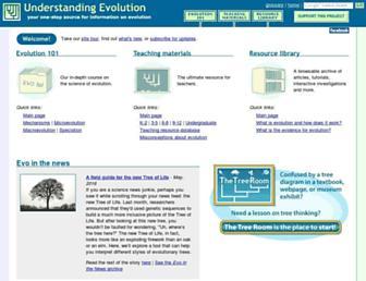 evolution.berkeley.edu screenshot
