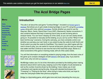 acolbridge.co.uk screenshot