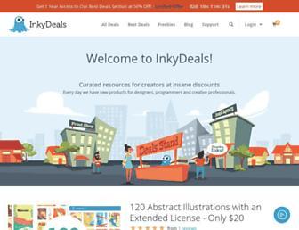 inkydeals.com screenshot