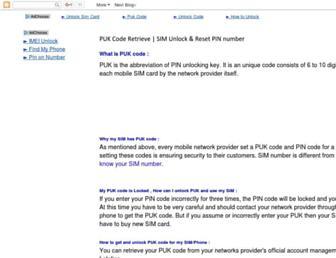 pukspeed.com screenshot