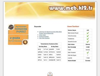 meb.k12.tr screenshot