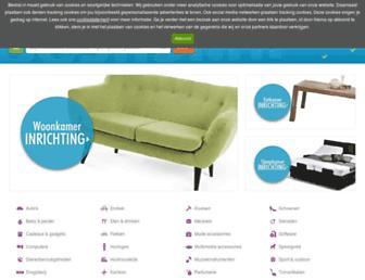 Main page screenshot of beslist.nl