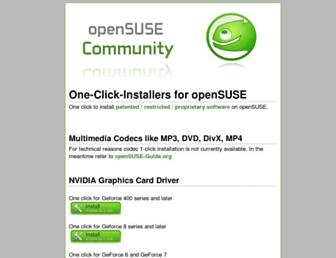 Thumbshot of Opensuse-community.org