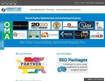 submitcube.com screenshot