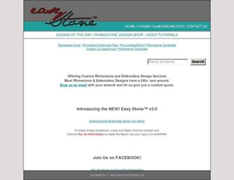 easystonetemplates.com screenshot